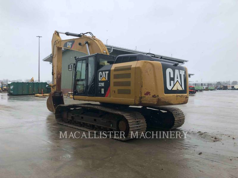 CATERPILLAR KETTEN-HYDRAULIKBAGGER 329E equipment  photo 6