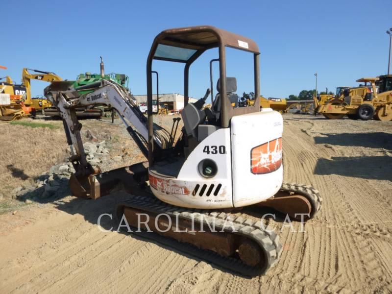 BOBCAT EXCAVADORAS DE CADENAS 430 equipment  photo 2