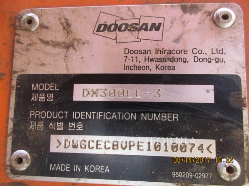 DOOSAN INFRACORE AMERICA CORP. FORESTAL - CARGADORES DE TRONCOS DX300LL-3 equipment  photo 24