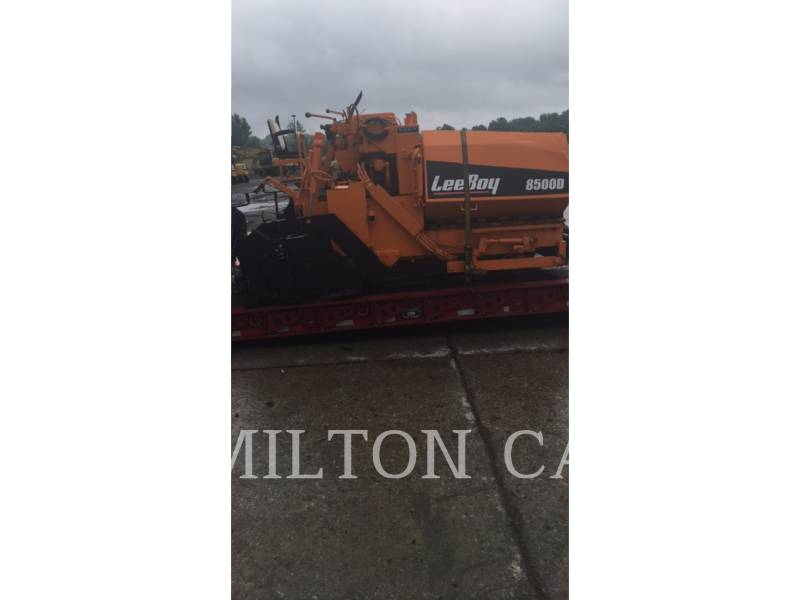 LEE-BOY ASPHALT PAVERS 8500 equipment  photo 5