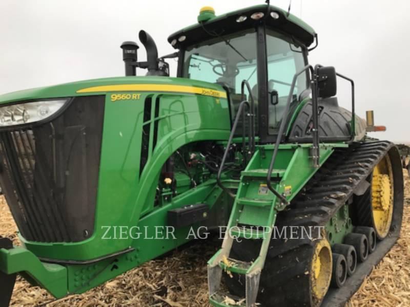 DEERE & CO. TRACTEURS AGRICOLES 9560RT equipment  photo 1