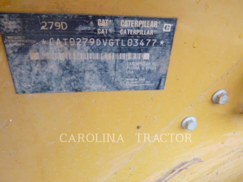 CATERPILLAR TRACK LOADERS 279D CB equipment  photo 10
