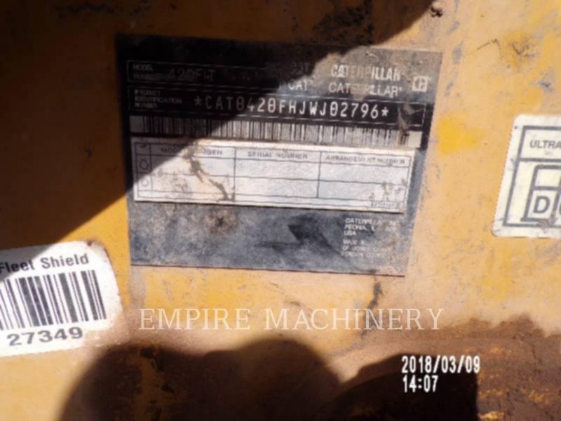 CATERPILLAR BAGGERLADER 420FIT equipment  photo 2