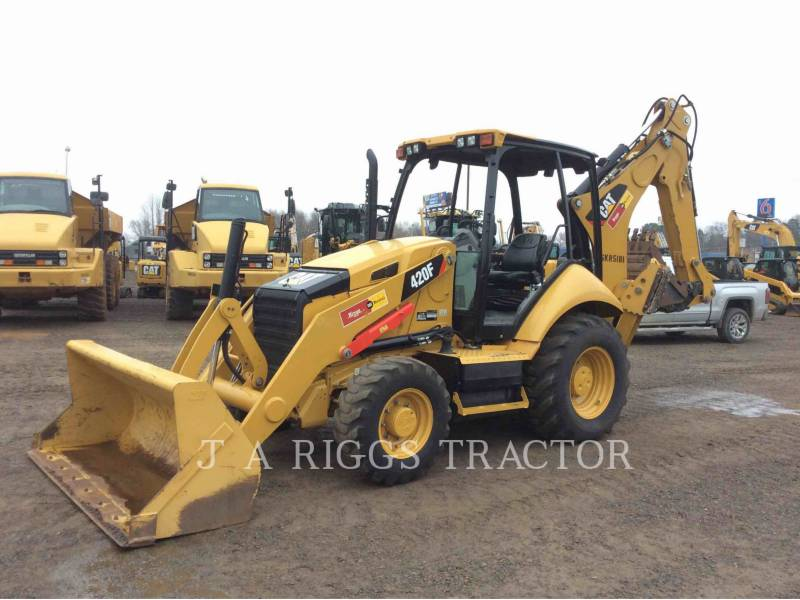 CATERPILLAR BACKHOE LOADERS 420F 4H equipment  photo 1