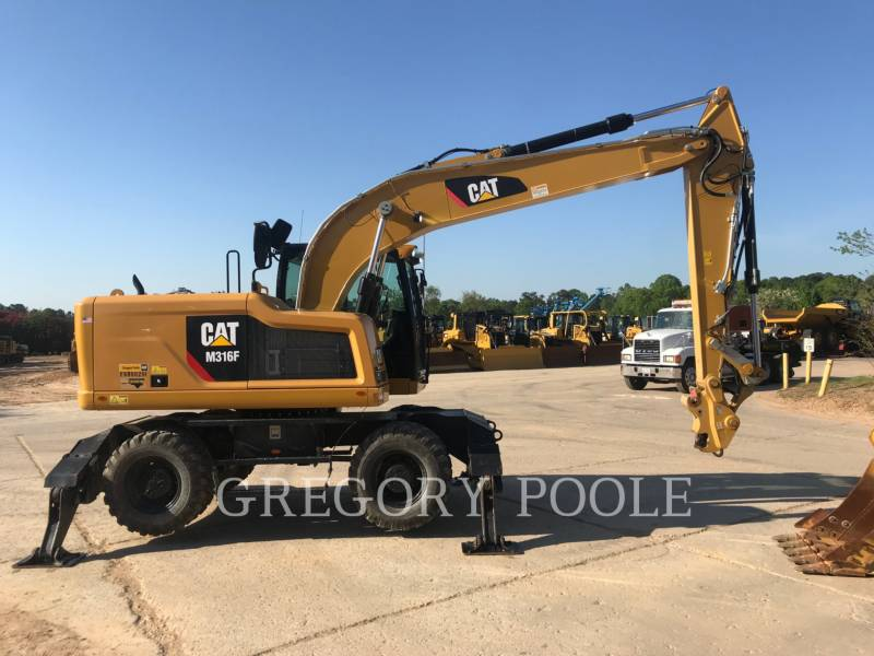 CATERPILLAR WHEEL EXCAVATORS M316F equipment  photo 3