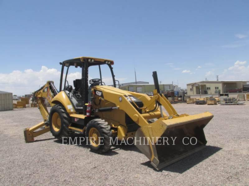 CATERPILLAR バックホーローダ 420F 4EO P equipment  photo 1