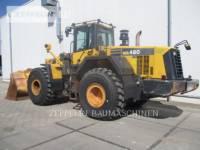 KOMATSU LTD. RADLADER/INDUSTRIE-RADLADER WA480LC-6 equipment  photo 2