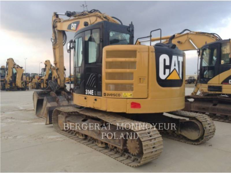 CATERPILLAR KOPARKI GĄSIENICOWE 314E CR equipment  photo 5