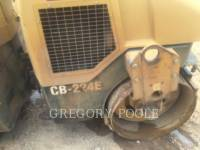 CATERPILLAR VIBRATORY DOUBLE DRUM ASPHALT CB-224E equipment  photo 18
