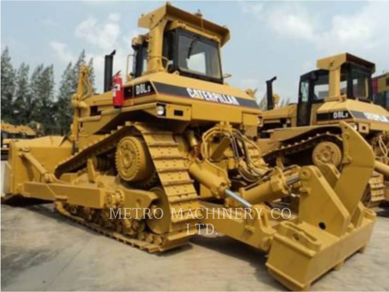 CATERPILLAR TRACTEURS SUR CHAINES D8L equipment  photo 6
