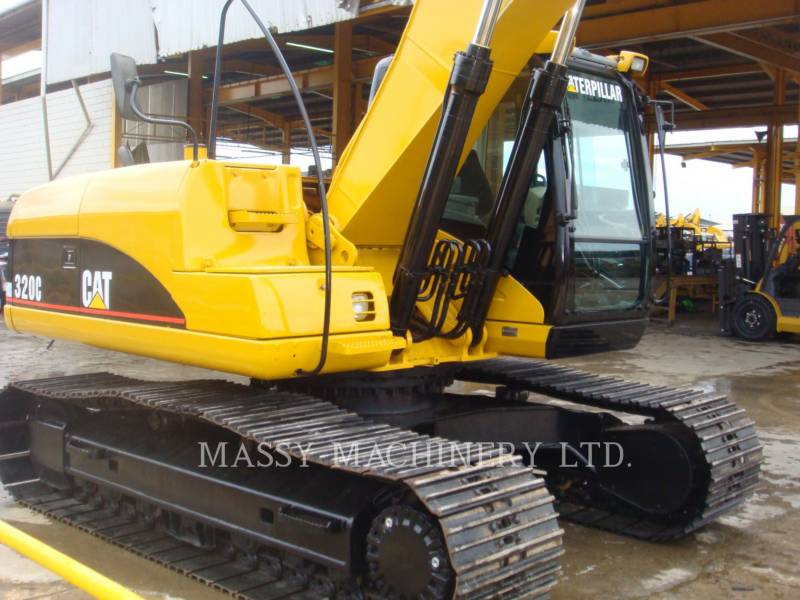 CATERPILLAR TRACK EXCAVATORS 320C equipment  photo 2