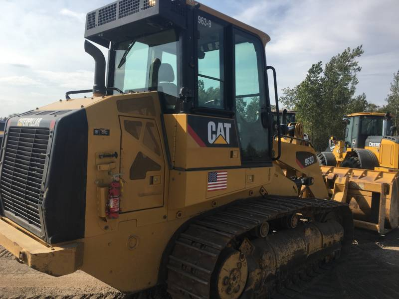 CATERPILLAR TRACK LOADERS 963D equipment  photo 6