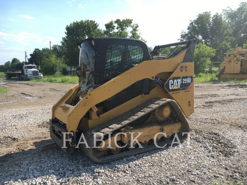 CATERPILLAR DELTALADER 299D equipment  photo 6