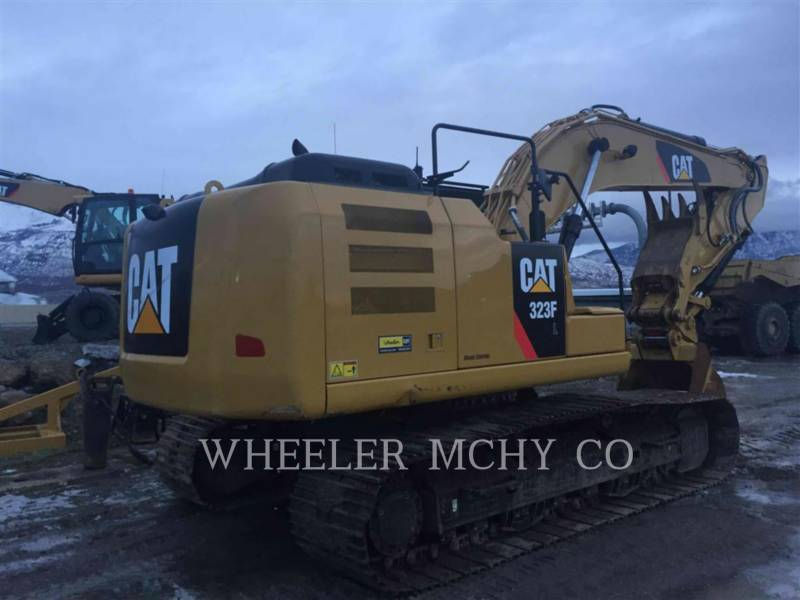 CATERPILLAR TRACK EXCAVATORS 323F L THM equipment  photo 3