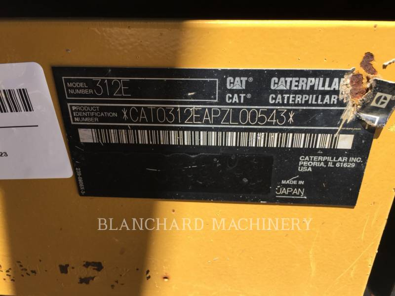 CATERPILLAR KETTEN-HYDRAULIKBAGGER 312E equipment  photo 10