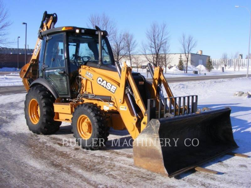 CASE/NEW HOLLAND CHARGEUSES-PELLETEUSES 580 SUPER N WT equipment  photo 2