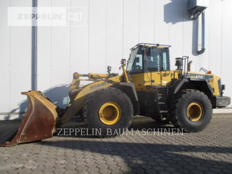 KOMATSU LTD. CARGADORES DE RUEDAS WA470-6 equipment  photo 6