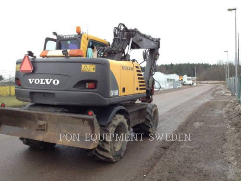 VOLVO CONSTRUCTION EQUIPMENT EXCAVADORAS DE RUEDAS EW160B equipment  photo 3