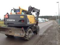 VOLVO CONSTRUCTION EQUIPMENT ホイール油圧ショベル EW160B equipment  photo 3