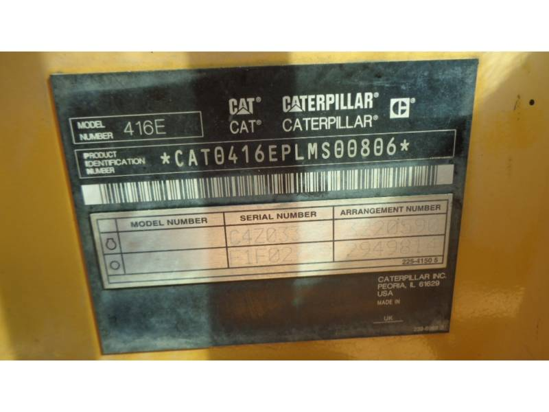 CATERPILLAR CHARGEUSES-PELLETEUSES 416EST equipment  photo 22
