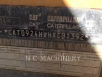 CATERPILLAR RADLADER/INDUSTRIE-RADLADER 924H equipment  photo 10