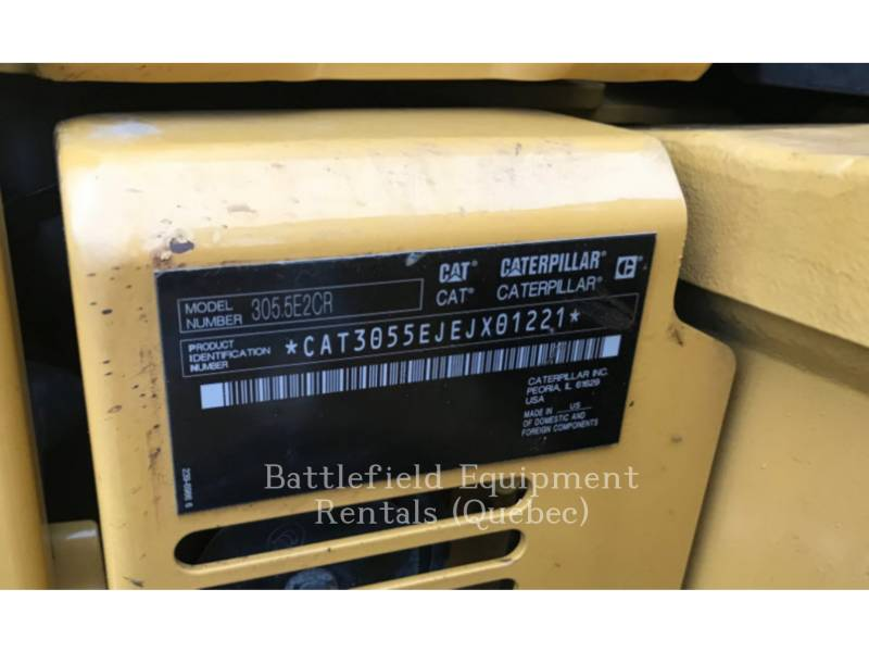 CATERPILLAR RUPSGRAAFMACHINES 305.5E2CR equipment  photo 13