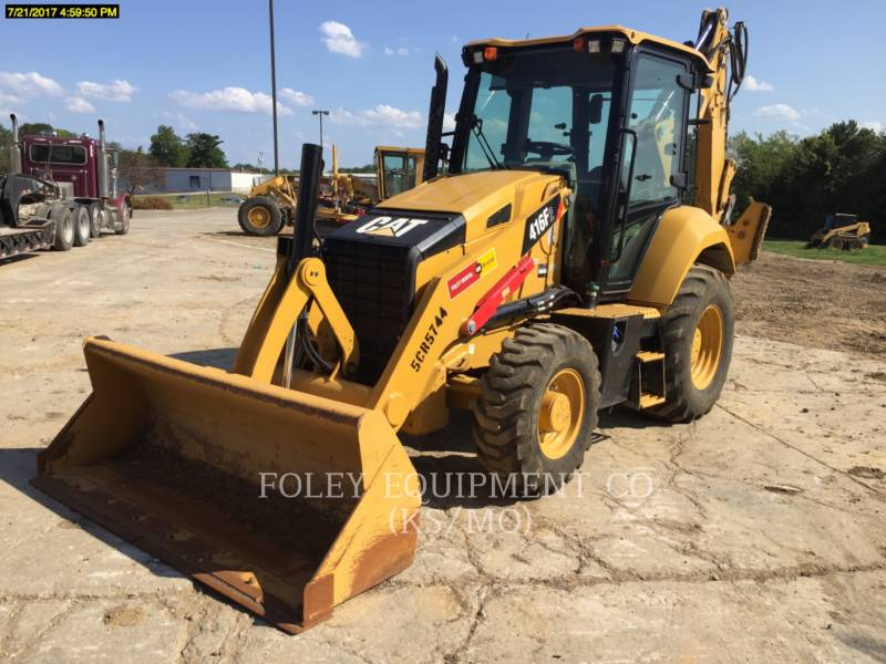 CATERPILLAR RETROESCAVADEIRAS 416F2 equipment  photo 1