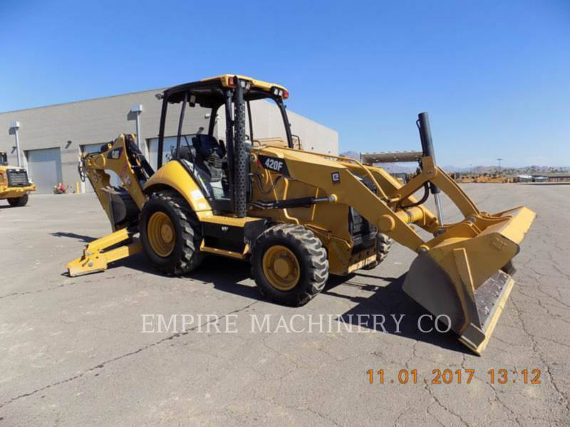 CATERPILLAR CHARGEUSES-PELLETEUSES 420F 4EOM equipment  photo 1