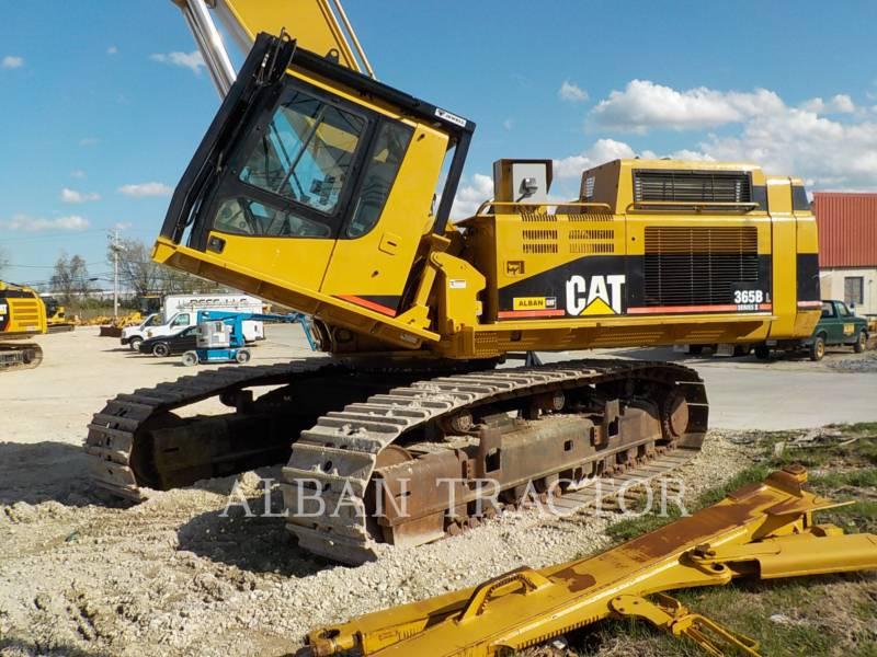 CATERPILLAR TRACK EXCAVATORS 365BIIL equipment  photo 1