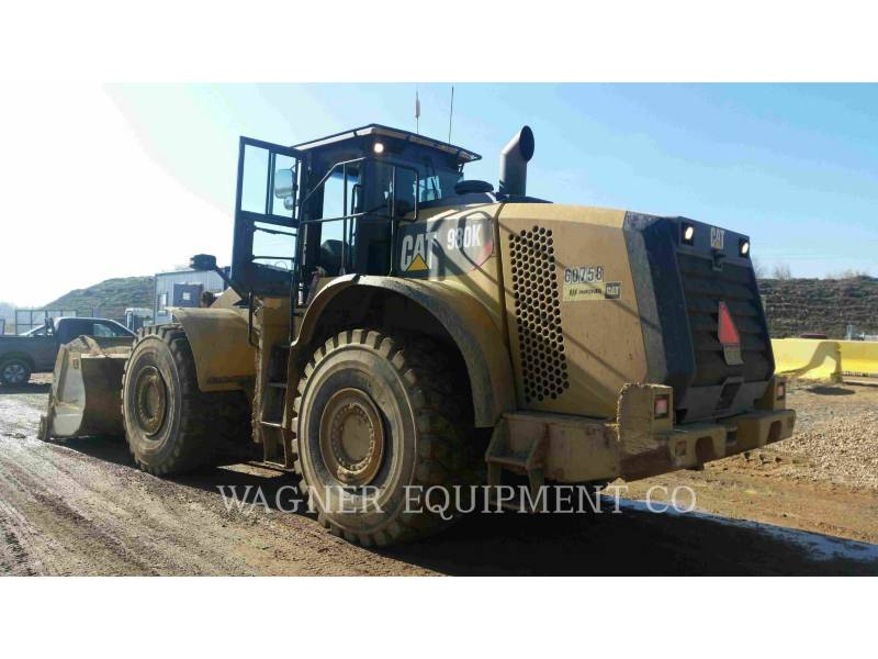 CATERPILLAR WHEEL LOADERS/INTEGRATED TOOLCARRIERS 980K AG equipment  photo 2