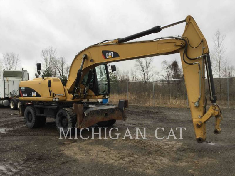 CATERPILLAR PELLES SUR PNEUS M322D equipment  photo 1