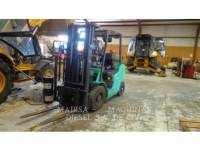Equipment photo MITSUBISHI CATERPILLAR FORKLIFT FG25N FORKLIFTS 1