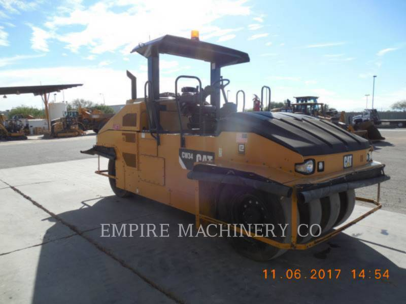 CATERPILLAR COMPACTEURS SUR PNEUS CW34 equipment  photo 1