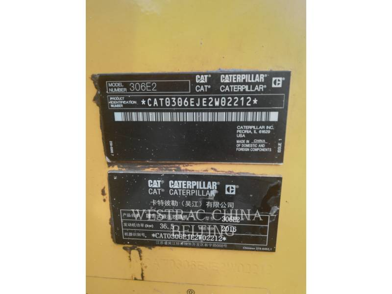 CATERPILLAR EXCAVADORAS DE CADENAS 306E2 equipment  photo 5