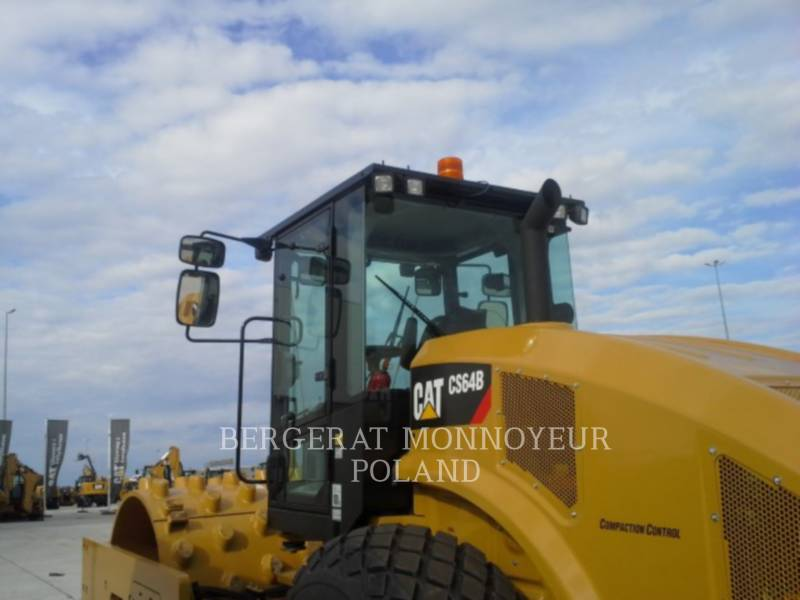 CATERPILLAR EINZELVIBRATIONSWALZE, GLATTBANDAGE CS 64 B equipment  photo 4
