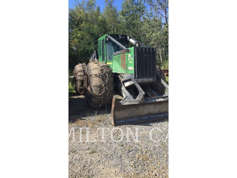 JOHN DEERE FORESTAL - ARRASTRADOR DE TRONCOS 848H equipment  photo 4