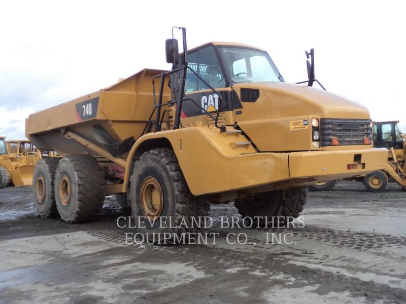 CATERPILLAR ARTICULATED TRUCKS 740 WW equipment  photo 2
