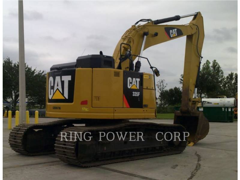 CATERPILLAR KETTEN-HYDRAULIKBAGGER 335FLTHUMB equipment  photo 4