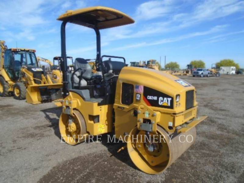 CATERPILLAR TAMBOR DOBLE VIBRATORIO ASFALTO CB24B LT equipment  photo 1