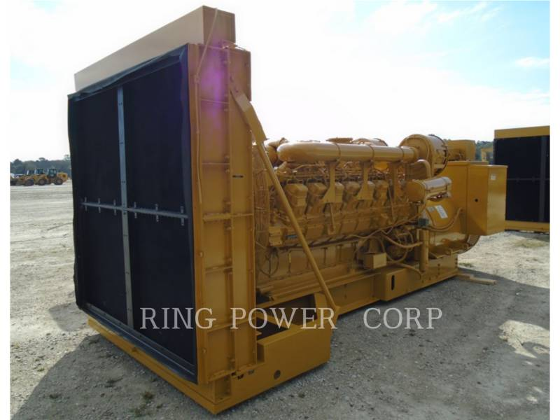 CATERPILLAR 固定式発電装置 1750 KW equipment  photo 1