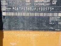 CATERPILLAR GUMMIRADWALZEN PS360C equipment  photo 7