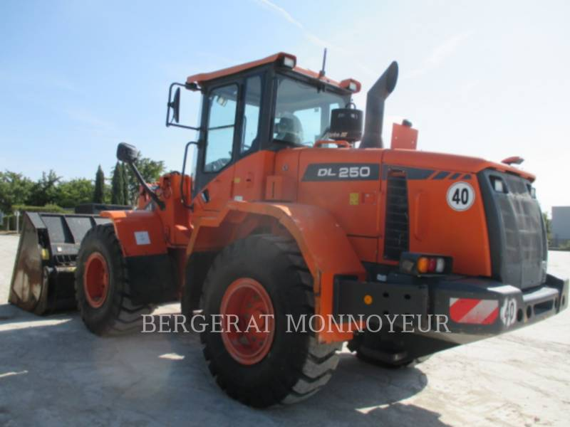 DOOSAN INFRACORE AMERICA CORP. CARGADORES DE RUEDAS DL250.3 equipment  photo 10