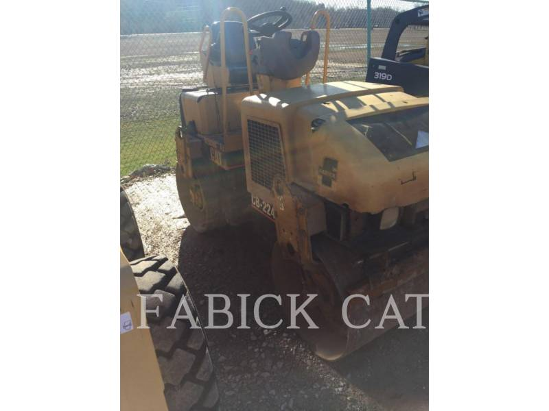 CATERPILLAR TANDEMVIBRATIONSWALZE, ASPHALT CB224E equipment  photo 1