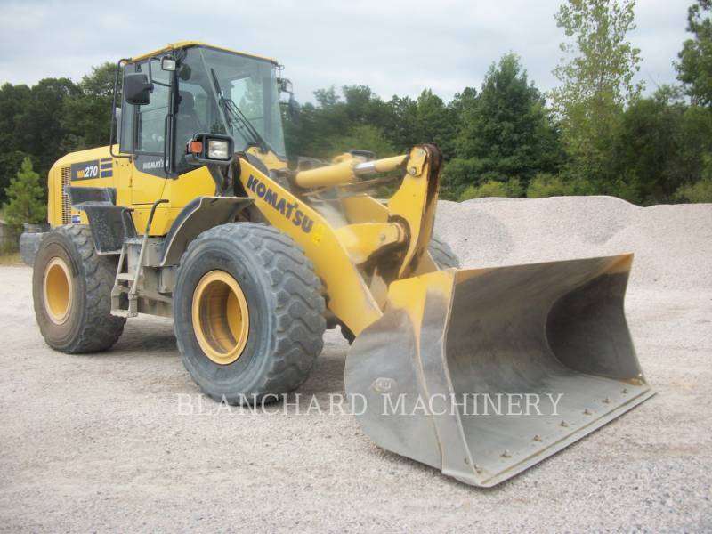 KOMATSU WHEEL LOADERS/INTEGRATED TOOLCARRIERS WA270 equipment  photo 1