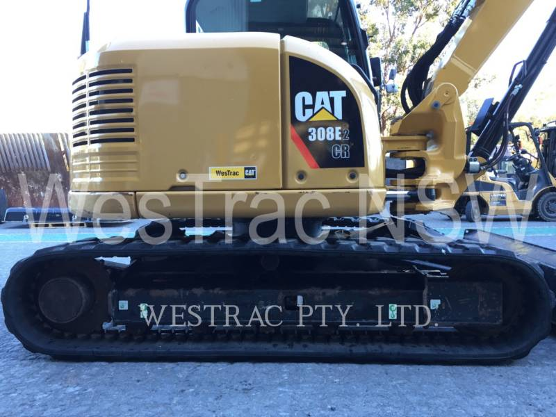 CATERPILLAR TRACK EXCAVATORS 308E2 equipment  photo 5