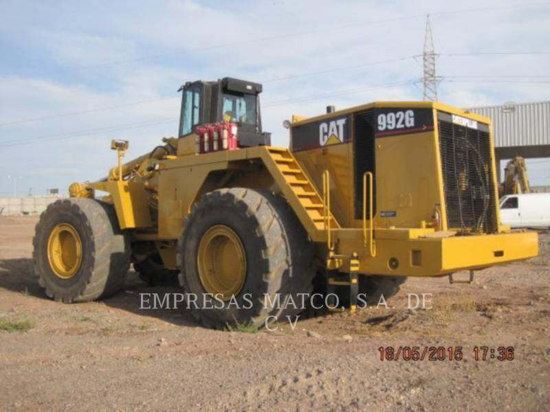 CATERPILLAR BERGBAU-RADLADER 992G equipment  photo 8