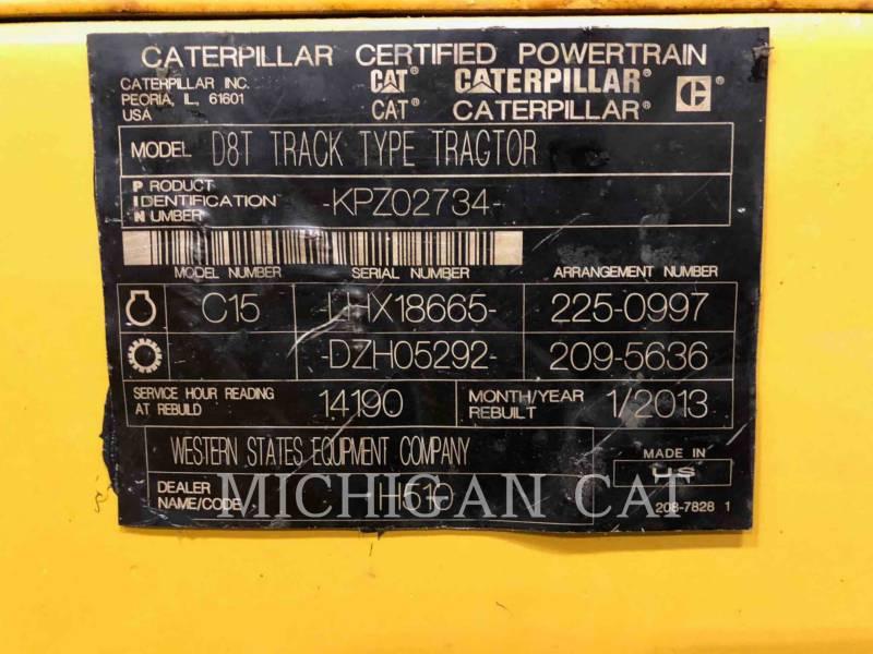 CATERPILLAR CIĄGNIKI GĄSIENICOWE D8TL C equipment  photo 16