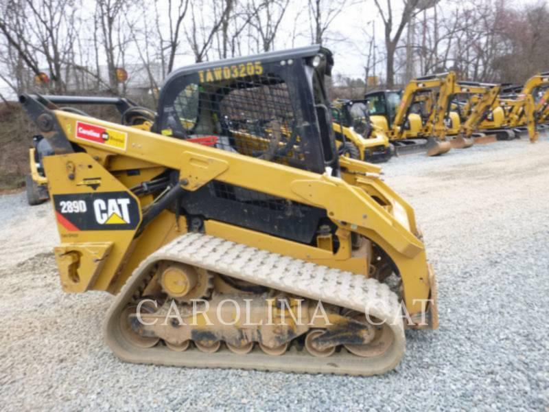 CATERPILLAR 履帯式ローダ 289D equipment  photo 1