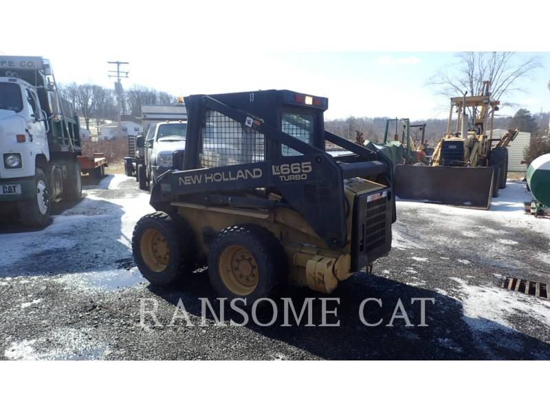 NEW HOLLAND LTD. CHARGEURS COMPACTS RIGIDES LX665 equipment  photo 4