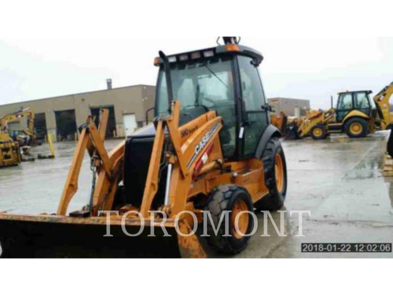 CASE/NEW HOLLAND バックホーローダ 580 equipment  photo 2